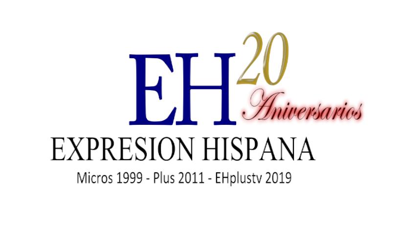 Logo Expresion Hispana 20 años