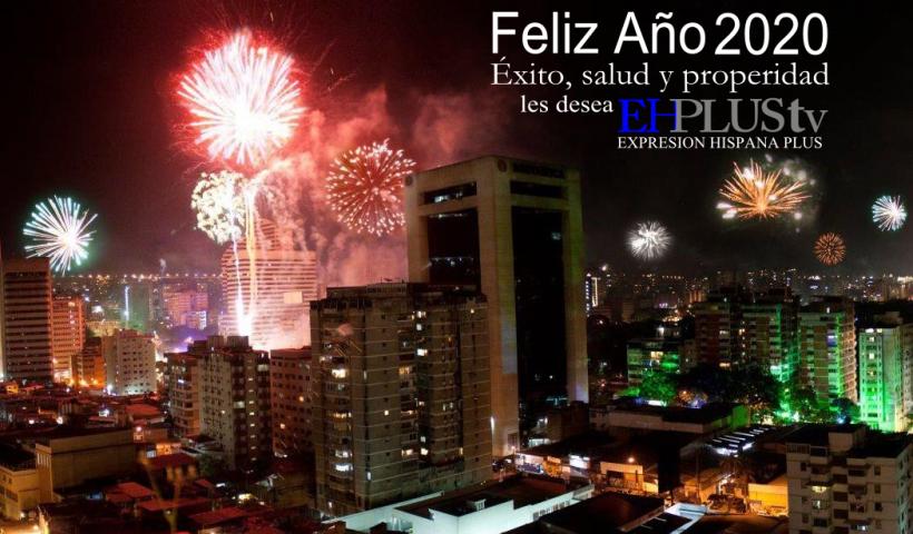 Feliz Año Caracas celebra