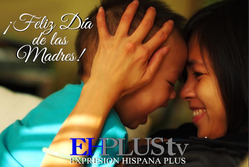 Madre latinoamericana e hijo