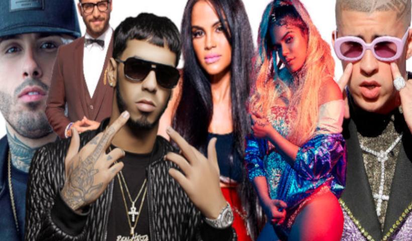 Algunas figuras más resaltantes de la música urbana latina