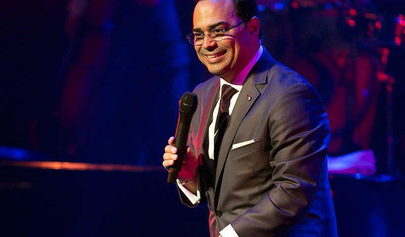 Cantante Gilberto Santa Rosa