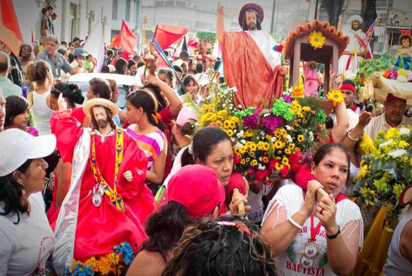 Celebración de San Juan Bautista en Venezuela
