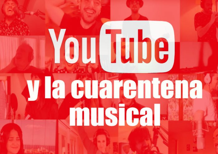 Logo de Youtube y la cuarentena musical