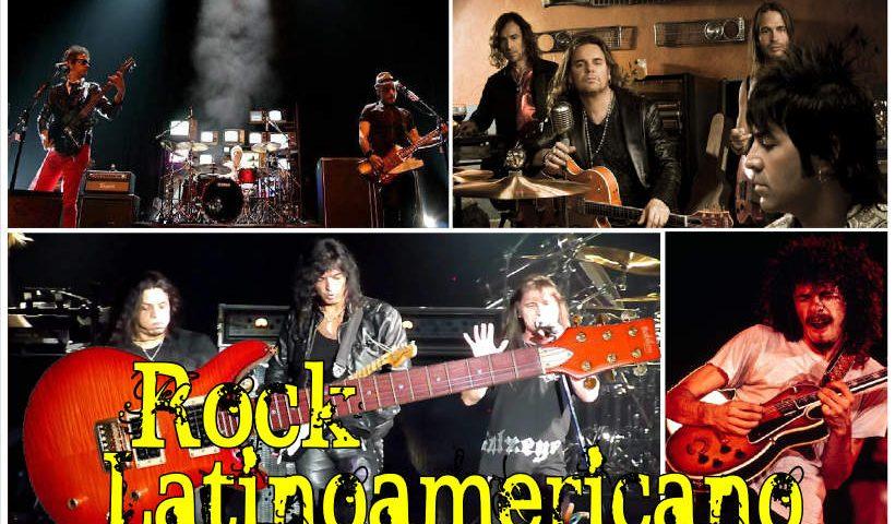Afiche Rock latinoamericano