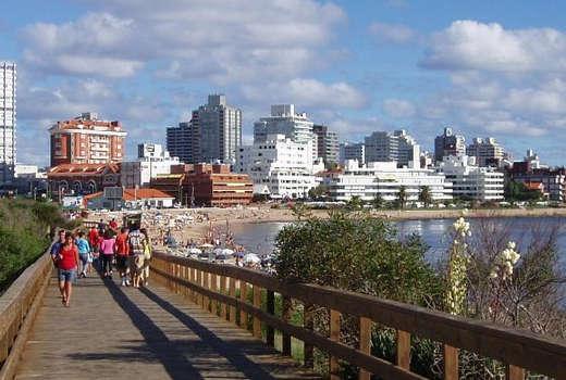 La rambla punta del este Uruguay
