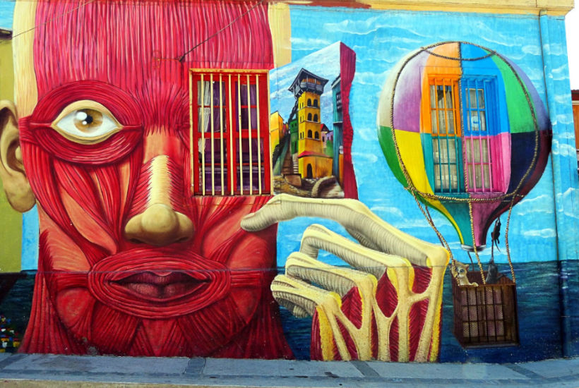 Mural artístico