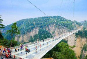 Puente de cristal de Zhangjiajie