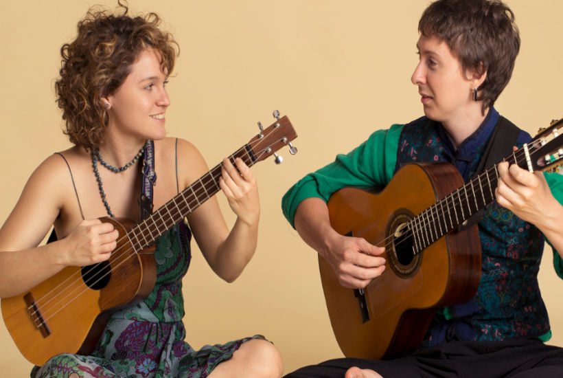 Dúo musical argentino Agua Madera