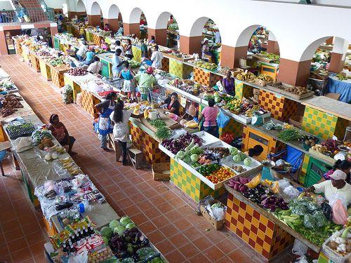 Cheapside Street Market, Barbados