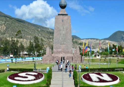 Monumento de la mitad del mundo, Ecuador