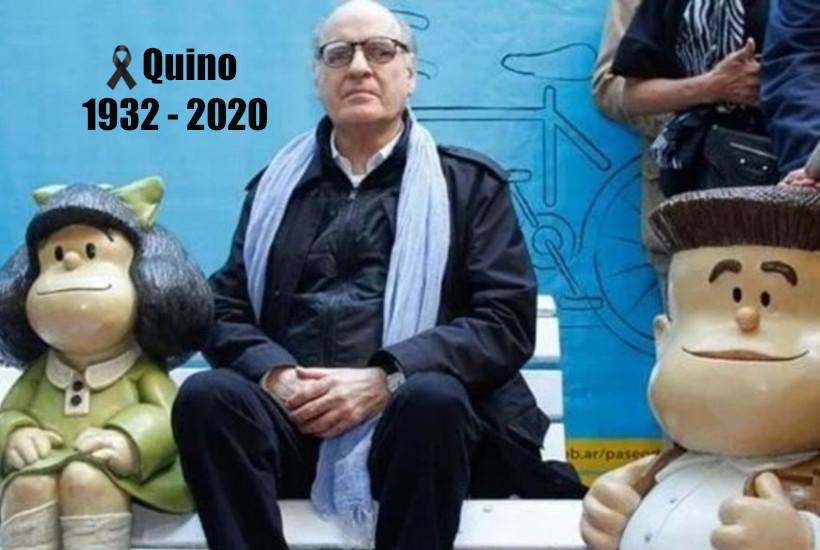 El caricaturista Quino