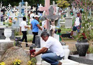 Celebración del día de los muertos en Venezuela