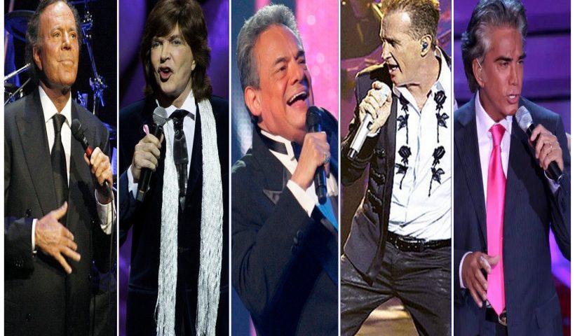 Idolos de la música hispanoamericana