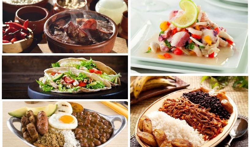 Platos típicos latinoamericanos