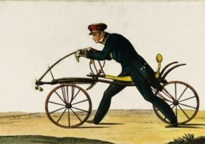 La primera bicicleta