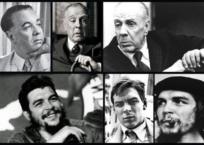 Jorge Luis Borge y el Che Guevara