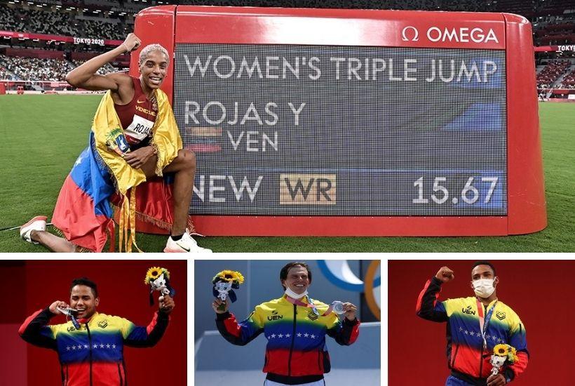 Medallistas olímpicos venezolanos